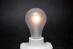 L'ampoule est allumée Photo libre de droits