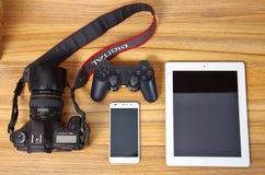 L'amusement des produits numériques Photos libres de droits