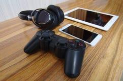L'amusement des produits numériques Photographie stock libre de droits
