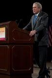 L'ancien Président George W. Bush Images libres de droits