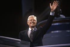 L'ancien Président Jimmy Carter Images libres de droits