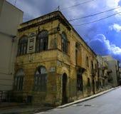 L'ancienne maison de Gorg Borg Olivier, premier ministre de Malte images libres de droits