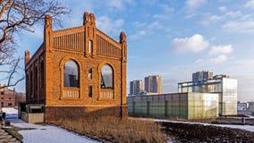 L'ancienne mine de charbon «Katowice» Photo stock