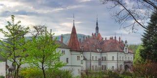 L'ancienne résidence carpathienne et la recherche de logement comptent Schonborn ea Photo libre de droits