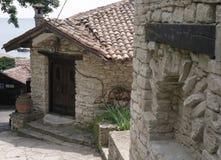 L'ancienne résidence de la reine roumaine, le jardin botanique Balchik photos libres de droits