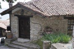 L'ancienne résidence de la reine roumaine, le jardin botanique Balchik image stock