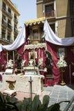 L'Andalusia, festival religioso Fotografie Stock