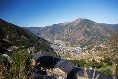 L'Andorre LaVella photographie stock