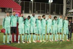 L'Andorre v Portugal - qualificateur 2018 de coupe du monde de la FIFA photographie stock