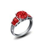 L'anello Immagine Stock