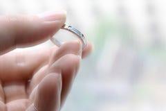 L'anello di miracolo Fotografia Stock