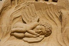 L'ange arénacé photos libres de droits