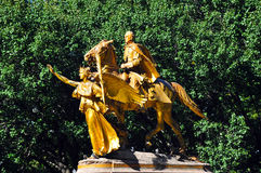 L'ange et le Tecumseh Sherman Photos stock