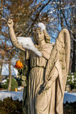 l'ange a monté photo stock