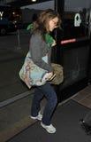L'Angeles-Attrice Natalie Portman di LOS è veduta a LA immagini stock