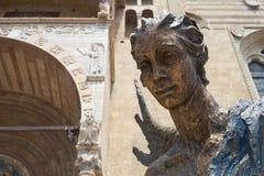 L'Angelo Blu dell'Accoglienza Royalty Free Stock Image