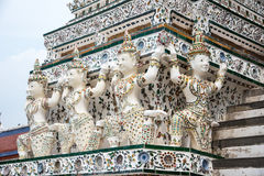 L'angelo del tempio Immagine Stock