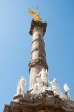 L'angelo di indipendenza, Messico City fotografia stock