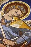 L'angelo di Kaiser-Wilhelm-Gedachtniskirche, mosaico, Berlino Fotografia Stock Libera da Diritti