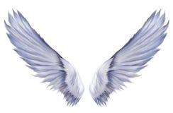 L'angelo traversa il Seraph volando Fotografie Stock