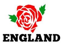 L'anglais Angleterre rose illustration de vecteur