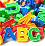 L'anglais d'alphabet Image stock