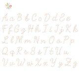 L'anglais d'alphabet Photos stock