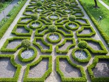 L'anglais Tudor Knot Garden Photos libres de droits