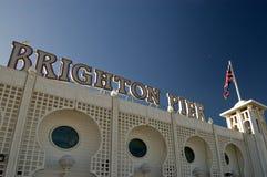 l'Angleterre le pilier de Brighton photographie stock