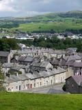 l'Angleterre : maisons en pierre de terrasse Photo stock