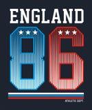 L'Angleterre sportive, image de vecteur Illustration Libre de Droits