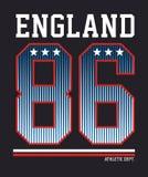 L'Angleterre sportive, image de vecteur Illustration de Vecteur