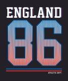 L'Angleterre sportive, image de vecteur Photos libres de droits