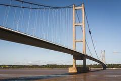 l'angleterre Yorkshire est 2010 Le pont de Humber photographie stock