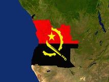 l'Angola Illustration Libre de Droits