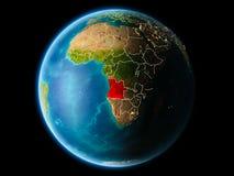 L'Angola le soir illustration stock