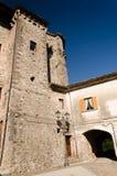 L'angolo della città in Italia del sud Fotografia Stock Libera da Diritti