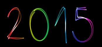 L'année 2015 Photographie stock libre de droits