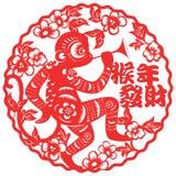L'année du papier de singe a coupé 2016 Image stock