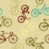 L'annata bikes il modello Immagini Stock
