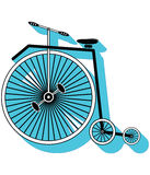 L'annata bikes il tipo 3 Immagini Stock
