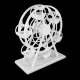 L'annata del giocattolo della ruota panoramica fa dalla stampante 3D Immagini Stock