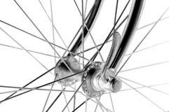 L'annata va in bicicletta il hub anteriore Fotografie Stock