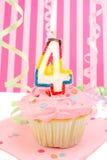 L'anniversaire de jeune fille Images stock