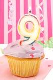 L'anniversaire de jeune fille Images libres de droits