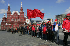 L'anniversaire de Vladimir Lenin image libre de droits