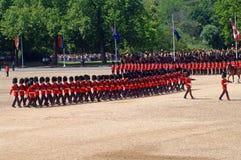 L'anniversaire Parade? de Queen?s. Image libre de droits