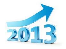 L'anno 2013 Immagini Stock