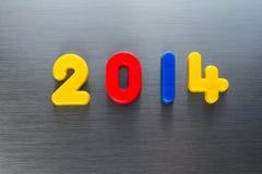 L'anno 2014 Fotografie Stock Libere da Diritti