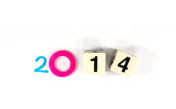 Année 2014 Image libre de droits